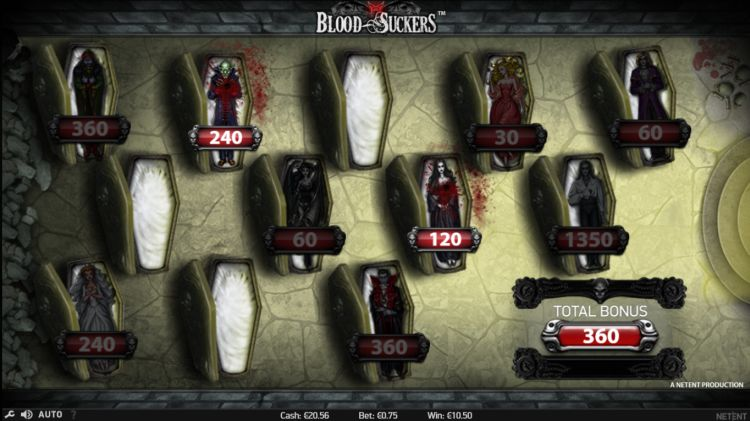 Blood Suckers Netent review bonus
