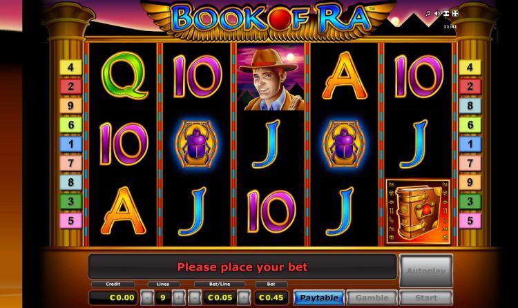 book of ra slot machine novomatic