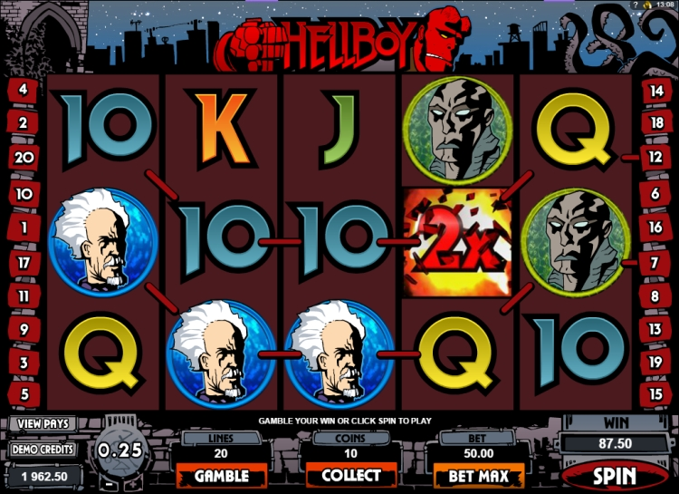 Hellboy slot review microgaming