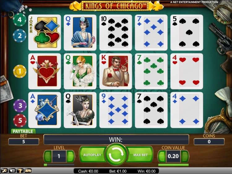 Kings of Chicago slot Netent