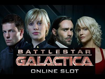 Battlestar Galactica slot machine by Microgaming