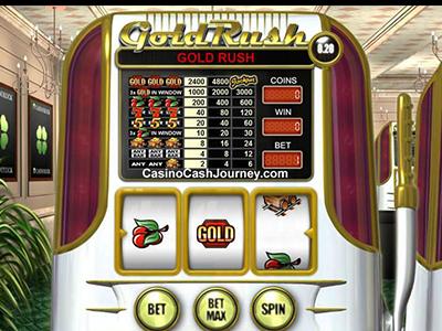 Gold Rush No Registration Slot Machine Free Demo