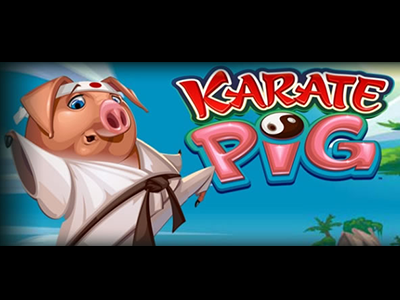 Karate Pig Slot by Microgaming