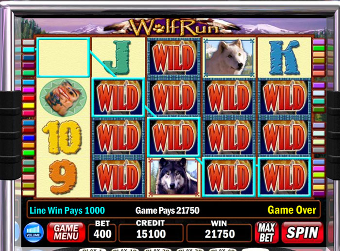 wolf run slot igt review