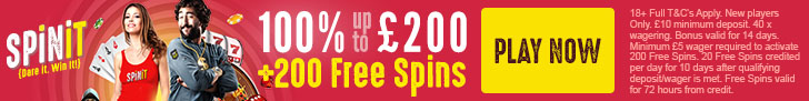 Spinit Casino review bonus