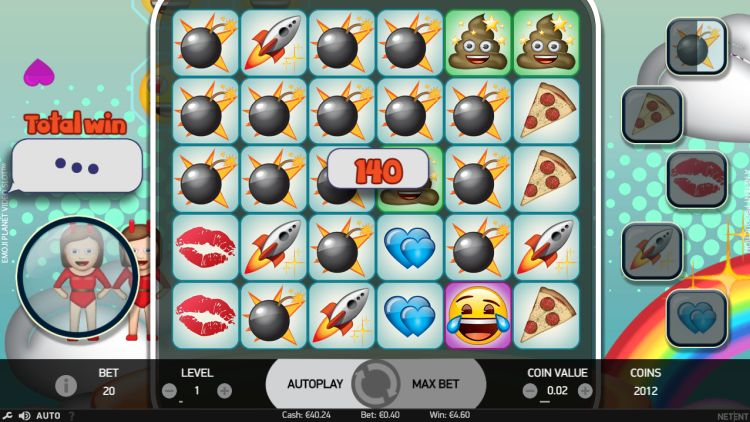 Emoji planet slot Netent review