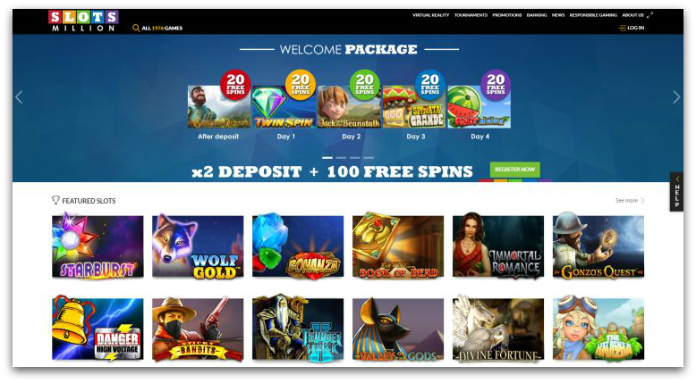 slots million new online casino uk
