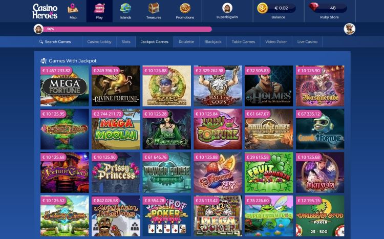 Casino Heroes Uk