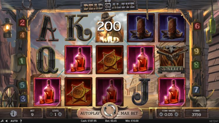 Dead or Alive II netent slot review 2