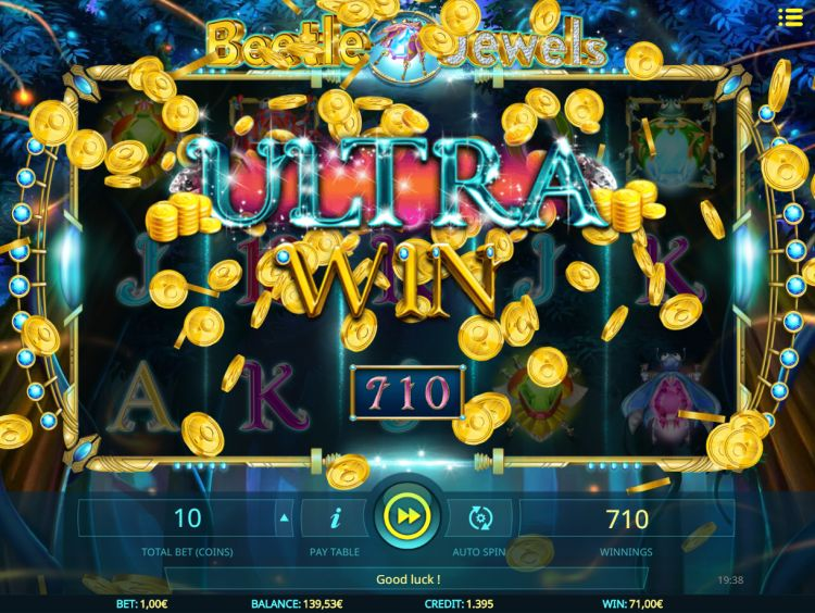 beetle-jewels-isoftbet slot big win