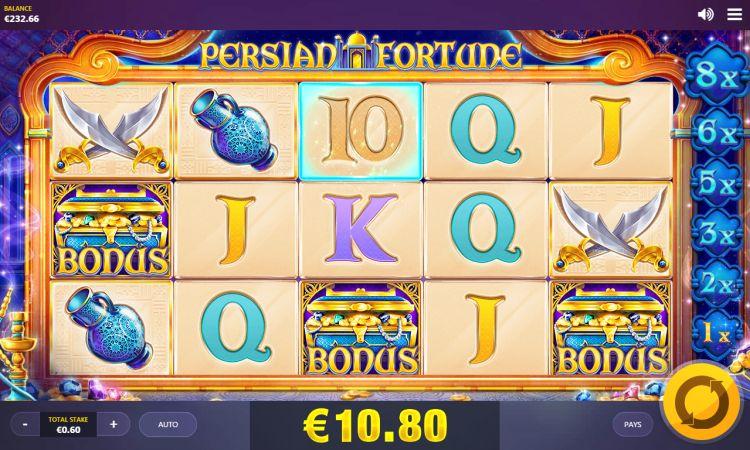 Persian Fortune bonus trigger 2