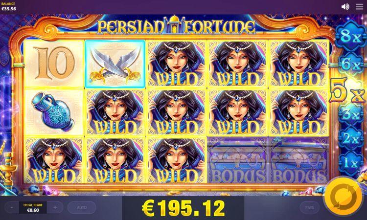 Persian Fortune slot mega big win