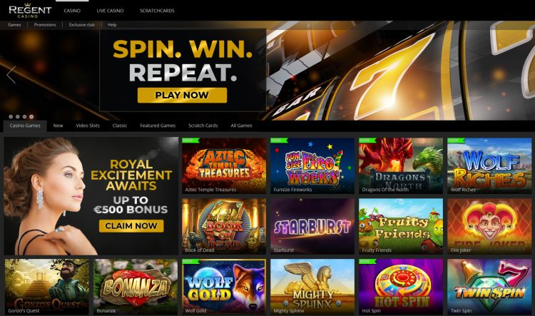 Regent Casino review uk
